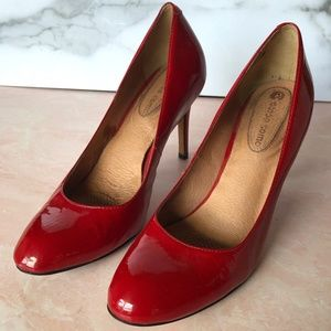 Corso Como Red Patent Leather Pump Heels